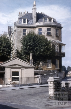 Camden Lodge and 1, Camden Crescent, Bath 1962