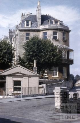 Camden Lodge and 1, Camden Crescent, Bath 1962
