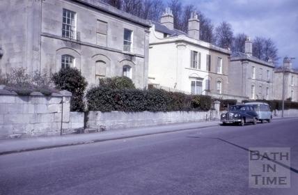 Claremont Place, Camden Road, Bath 1964