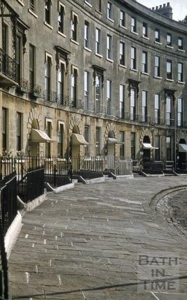 Cavendish Crescent, Bath 1956