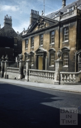 King Edward's Grammar School, Broad Street, Bath 1952