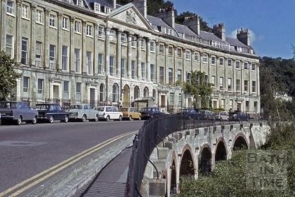 Camden Crescent, Bath 1974