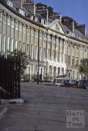 Camden Crescent, Bath 1975