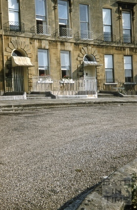 6 & 7, Cavendish Crescent, Bath 1955