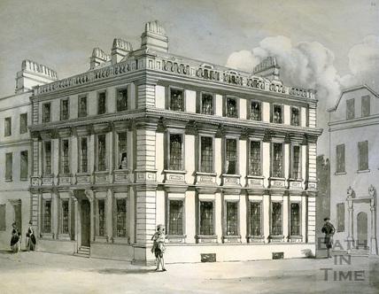 Beau Nash's Palace, Sawclose, Bath