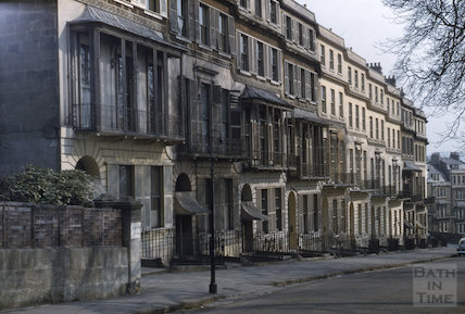 Cavendish Place, Bath 1956