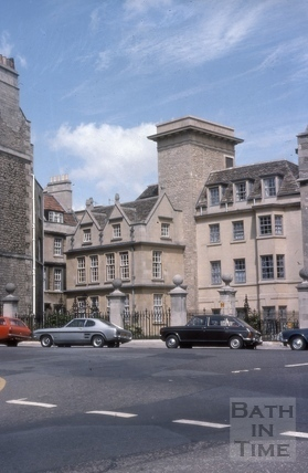 New buildings, Chapel Court, Bath 1975