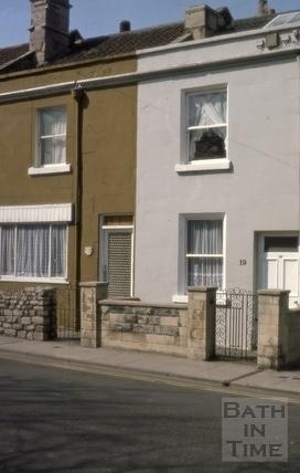 19 & 20, Brougham Hayes (Twerton Hayes Buildings), East Twerton, Bath 1976