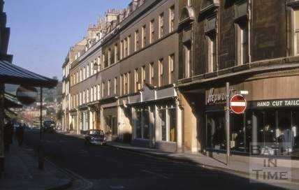 Cheap Street, Bath 1969