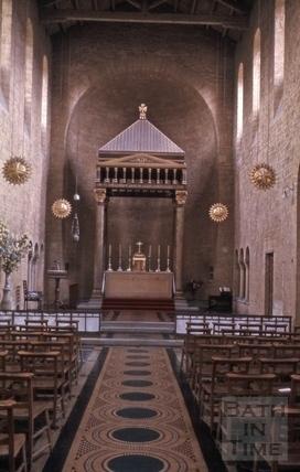 St. Alphege's Church, Oldfield Park, Bath 1965