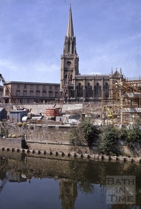 St. Michael's Church, Broad Street, Bath c.1971