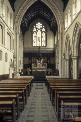 St. Mary's Church, Julian Road, Bath 1966