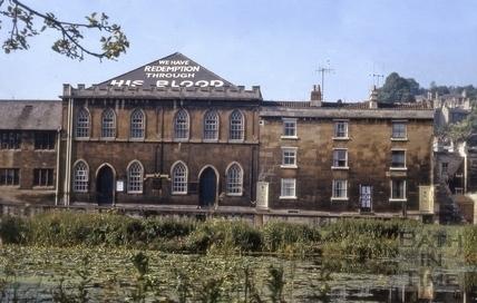 Ebenezer Chapel, Ebenezer Terrce, Widcombe, Bath 1965