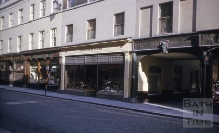 Cheap Street, Bath 1964