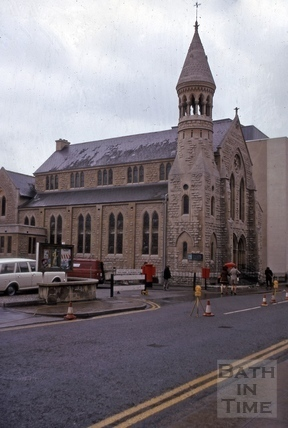 Manvers Street Baptist Chapel, Manvers Street, Bath 1975