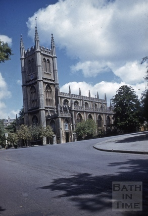 St. Mary's Church, Bathwick, Bath 1966?