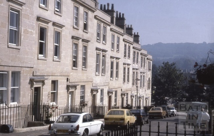 Chatham Row, Bath 1985