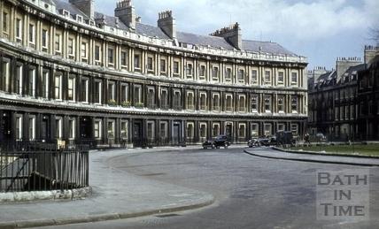 The Circus, Bath 1955