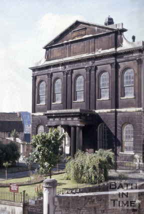 Walcot Methodist Church, London Street, Bath 1971
