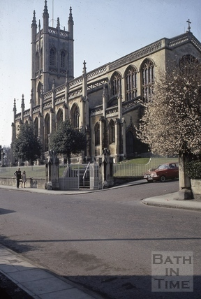 St. Saviour's Church, Larkhall, Bath 1973