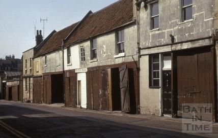 Circus Mews, Bath 1974