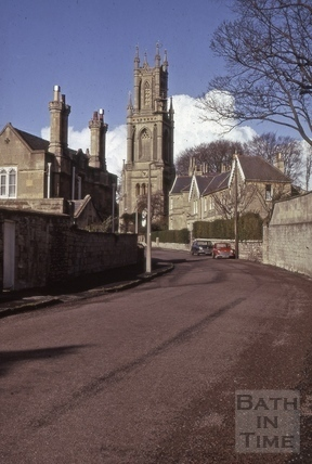 St. Stephen's Church, Lansdown, Bath 1975