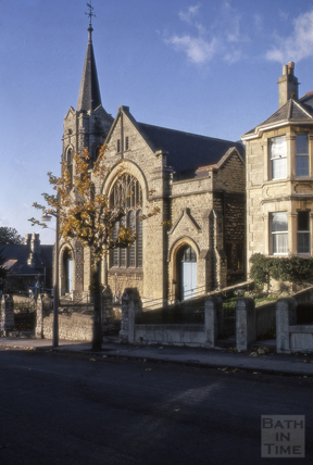Beechen Cliff Methodist Church, Shakespeare Avenue, Bath 1969