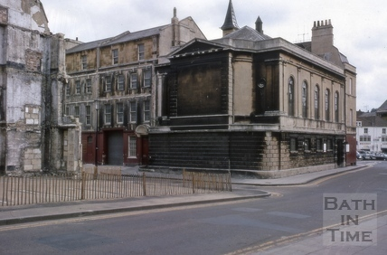 Trim Street Unitarian Church, Barton Street, Bath 1969
