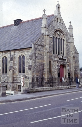 Weston Methodist Church, Newbridge Hill, Bath 1975
