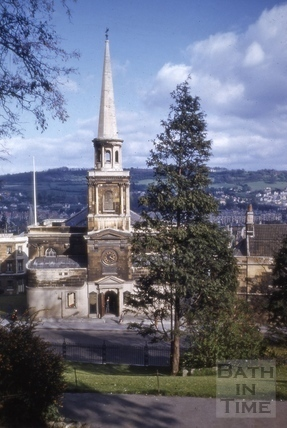 St. Swithin's Church, Walcot, Bath 1969