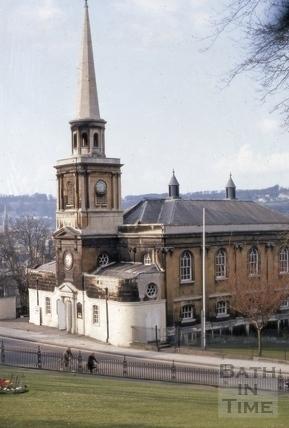 St. Swithin's Church, Walcot, Bath 1969
