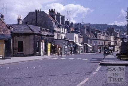 Southern Dispensary, Claverton Street and Claverton Buildings, Widcombe, Bath 1963