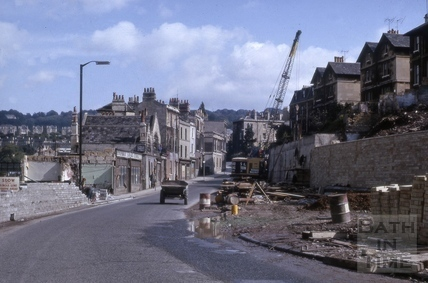 Claverton Street, Widcombe, Bath 1965
