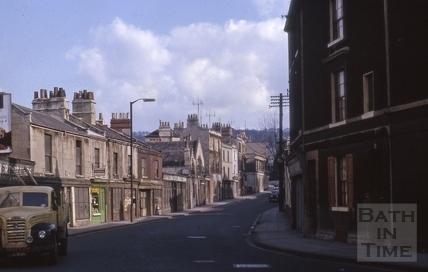 Claverton Street, Widcombe, Bath 1964