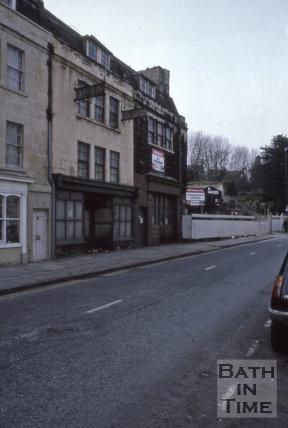 Claverton Street, Widcombe, Bath 1987