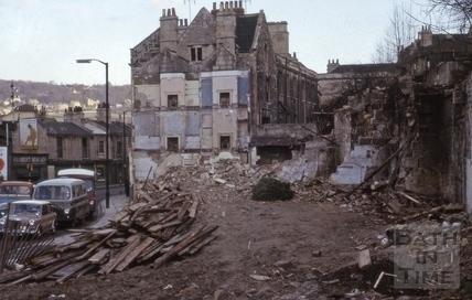 Widcombe Parade, Widcombe, Bath 1964
