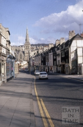 Claverton Street, Widcombe, Bath 1970