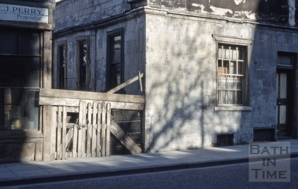 Cold Bath House, 26, Claverton Street, Widcombe, Bath 1963
