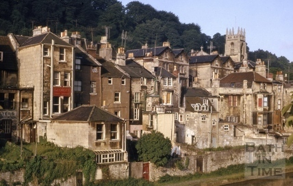 Claverton Street area, Widcombe, Bath 1964