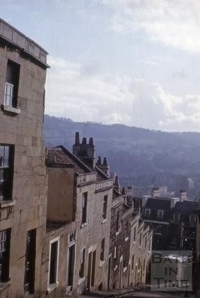Clement Street, Walcot, Bath 1964