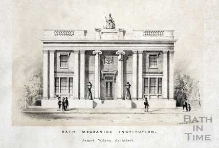 Bath Mechanics Institution c.1839