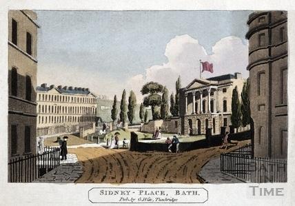 Sydney Place, Bath c.1805