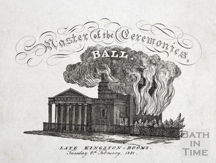 Master of the Ceremonies Ball, late Kingston Rooms, Bath 1821