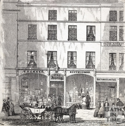 Tuckett & Southcombe, 20, Market Place, High Street, Bath c.1855?