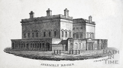 Assembly Rooms, Bath 1823