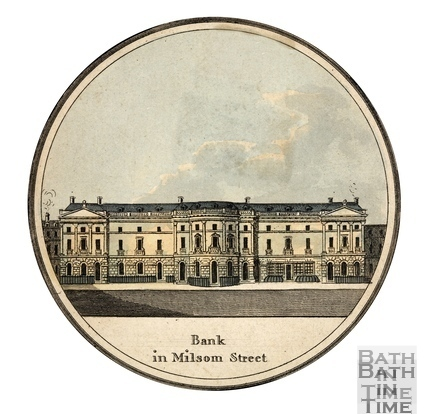 Bank in Milsom Street , Bath 1794