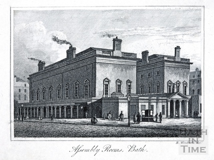 Assembly Rooms, Bath c.1839