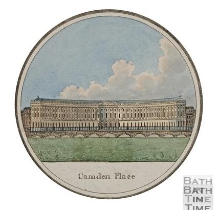 Camden Place (Crescent), Bath 1794