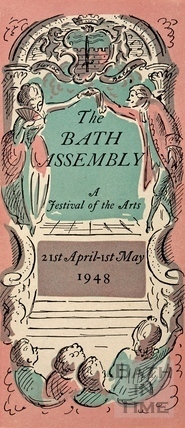 The Bath Assembly cover to leaflet with programme 1948