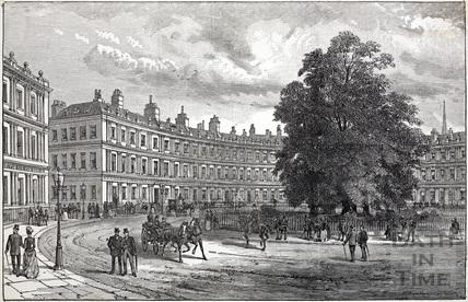 The Circus, Bath c.1820